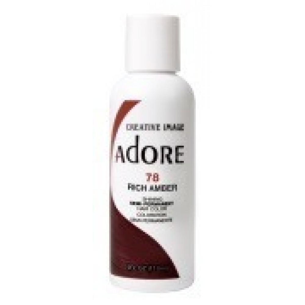 Adore Semi Permanent Hair Color 78 Rich Amber