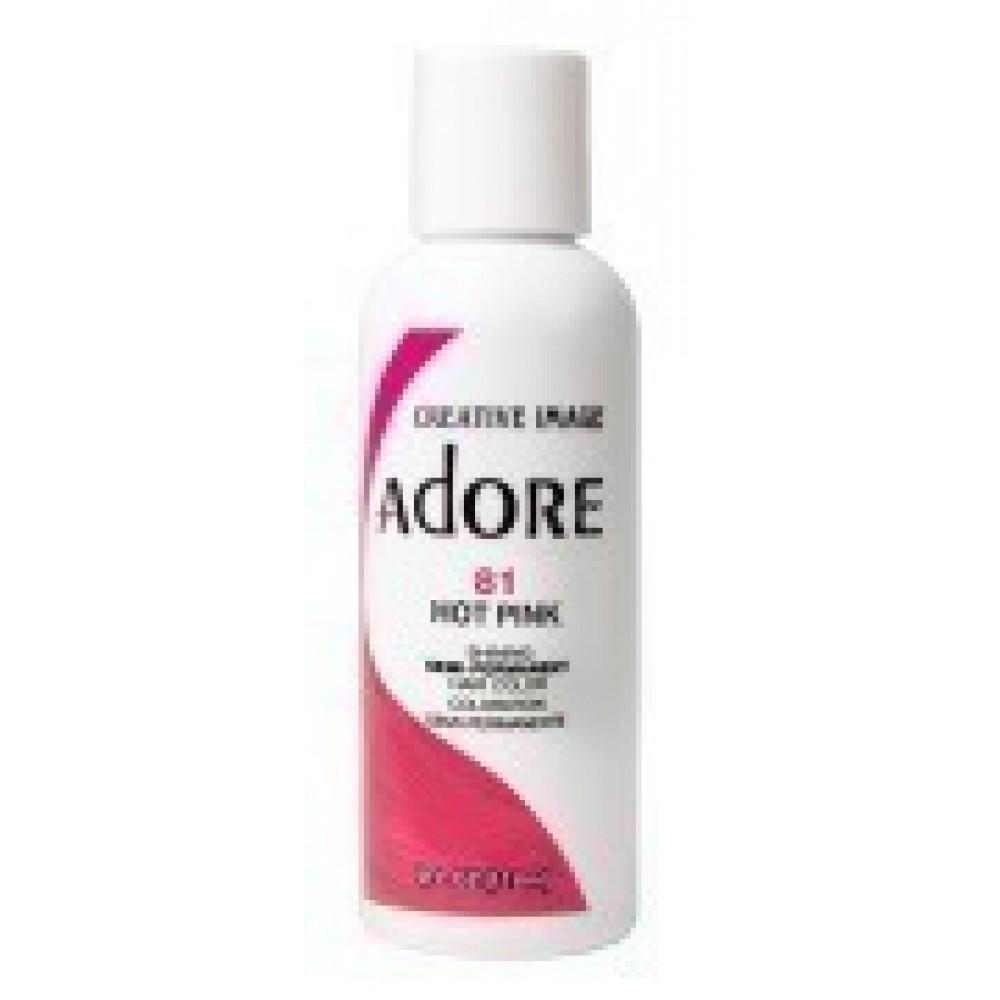 Adore Semi Permanent Hair Color 81 Hot Pink