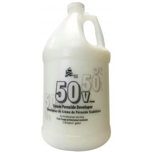Super Star Cream Peroxide Developer 50 Volume 128 Oz
