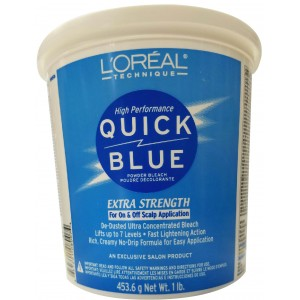 L'oreal Quick Blue Extra Strength Powder Bleach 16 Oz