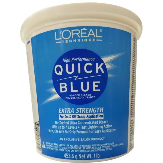 Loreal Quick Blue Extra Strength Powder Bleach 16 Oz