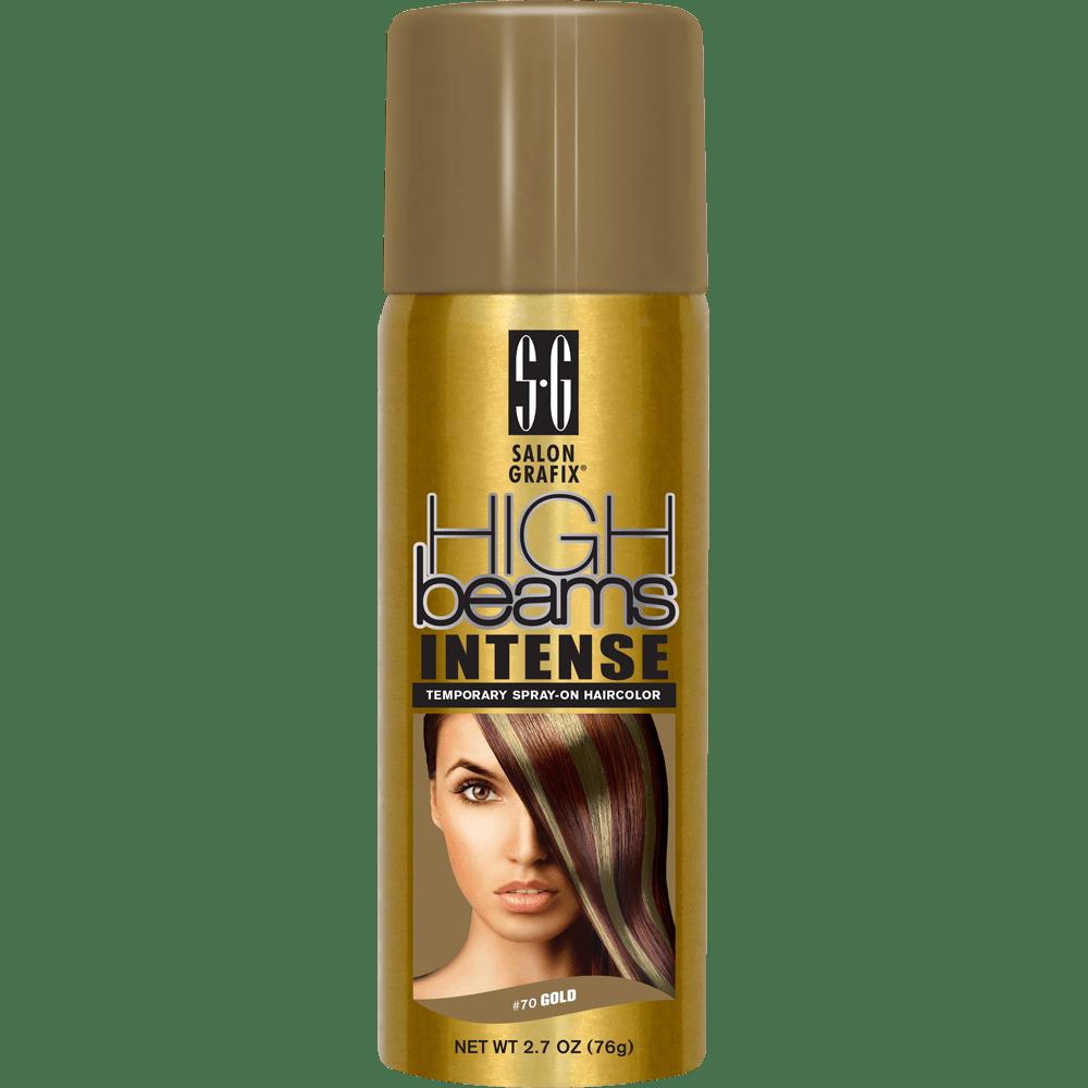 high beams intense temporary spray-on hair color - gold