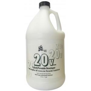 Super Star Cream Peroxide Developer 20 Volume 128 Oz