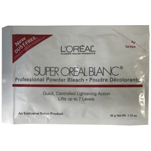 L'oreal Super Oreal Blance Hair Bleach Lightener Powder 1 Oz