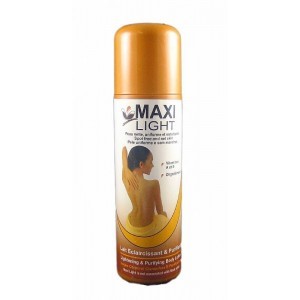 maxi light lightening and purifying body lotion with vitamines a & e and oligoelement 16.9 oz