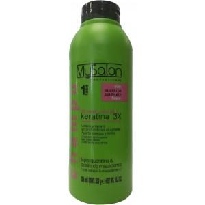 Mysalon Keratin Sulphate Shampoo 3x 1 Fase 18.3 Oz
