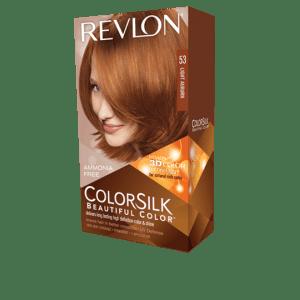 Revlon Colorsilk Beautiful Color Permanent Hair #53 Light Auburn