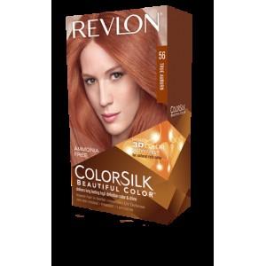 revlon colorsilk beautiful color permanent hair #56 true auburn