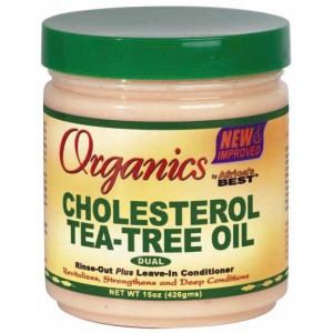 Africa's Best Organics Cholesterol Tea-tree Oil Conditioner 15 Oz