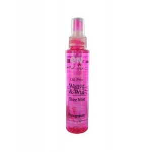 on natural oil free weave & wig shine mist pomegranate
