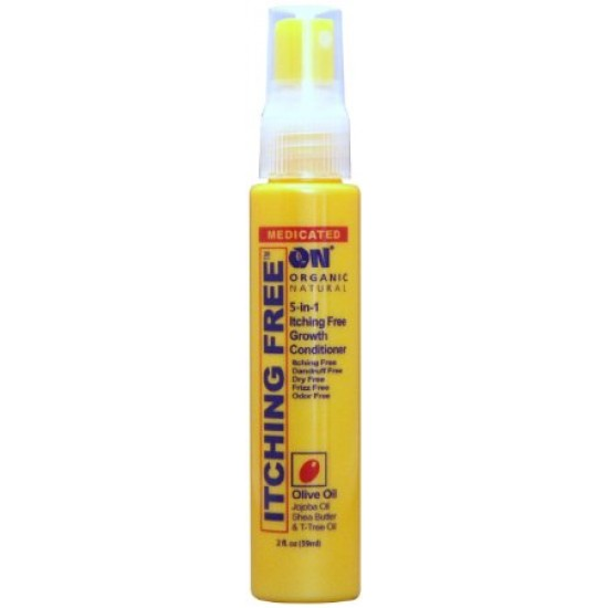 on natural 5 n 1 itching free growthconditioner olive oil