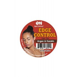 on natural edge control hair gel olive & avocado