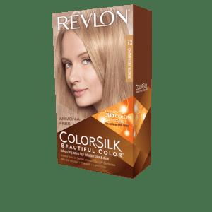 revlon colorsilk beautiful color permanent hair #73 champagne blonde