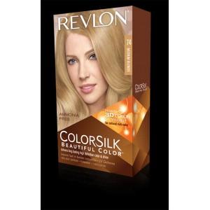 revlon colorsilk beautiful color permanent hair #74 medium blonde (natural blonde)