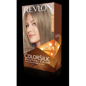 revlon colorsilk beautiful color permanent hair #60 dark ash blonde