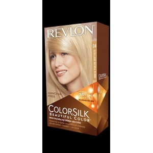 Revlon Colorsilk Beautiful Color Permanent Hair #04 Ultra Light Natural Blonde