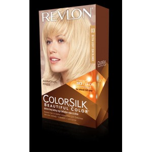 Revlon Colorsilk Beautiful Color Permanent Hair #03 Ultra Light Sun Blonde