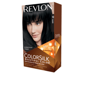 revlon colorsilk beautiful color permanent hair #10 black