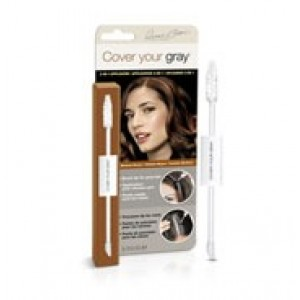 cover your gray  2-in-1 hair color touch up wand - medium brown