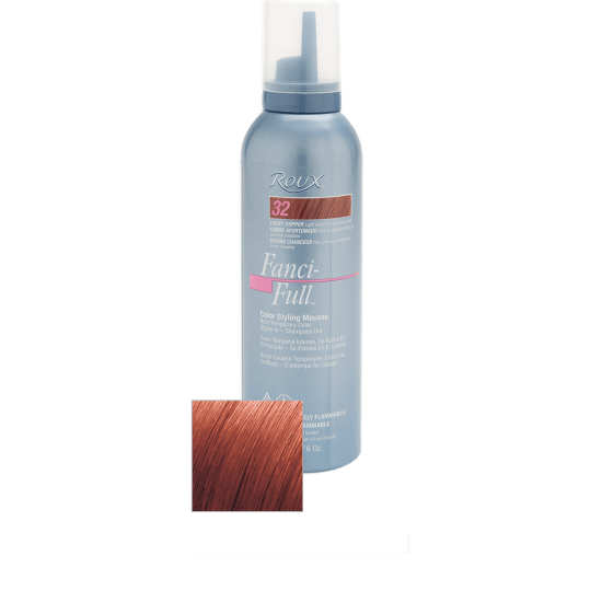 Roux Fanci-full Color Styling Mousse #32 Lucky Copper