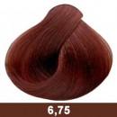 6,75-dark blond brown mahogany