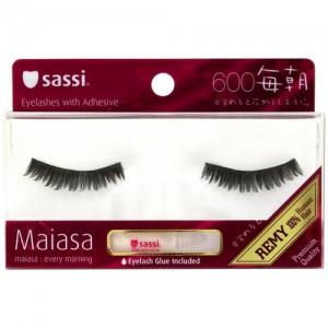 Sassi Maiasa 100% Remy Human Hair  Eyelashes With Glue #600