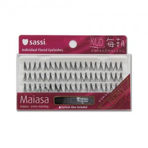 Sassi Maiasa Eyelashes Knot Free Db.flare W/glue Long 10ply