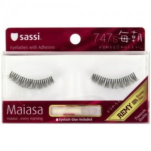 Sassi Maiasa 100% Remy Human Hair  Eyelashes With Glue #747s
