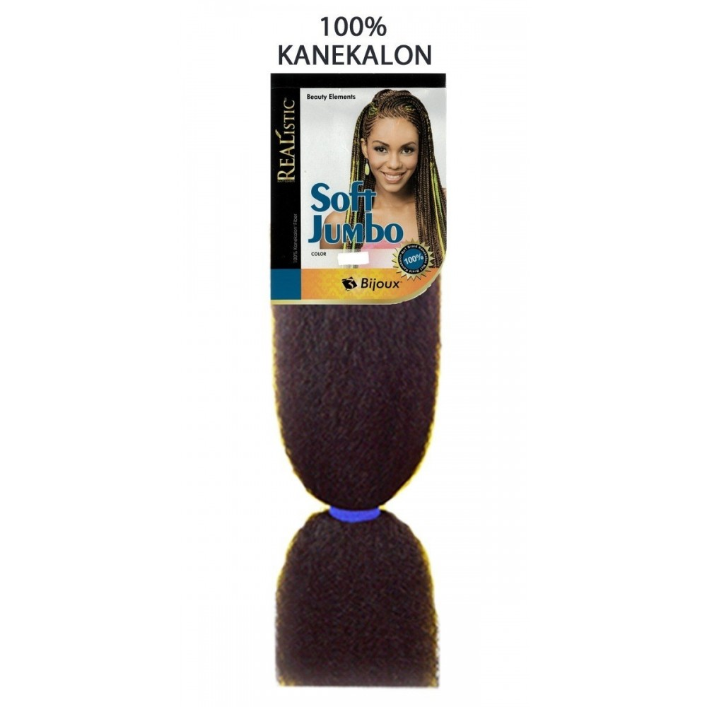 Bijoux Synthetic 100% Kanekalon Braids Soft Jumbo Braid Neon Colors
