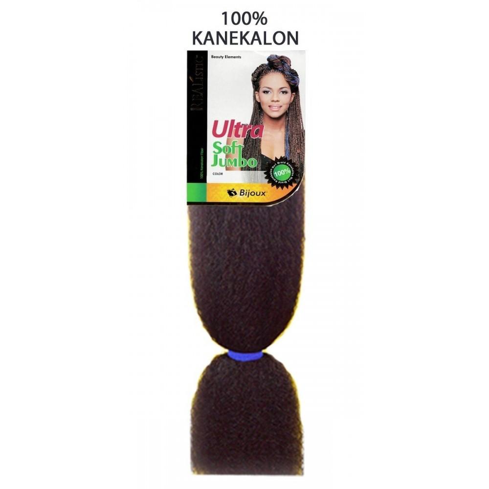 Bijoux Synthetic 100% Kanekalon Braids Ultra Soft Jumbo Braid