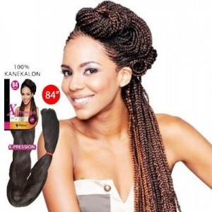BIJOUX SYNTHETIC 100% KANEKALON BRAIDS X-PRESSION BRAID