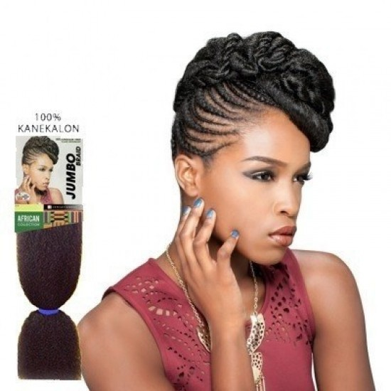 sensationne african collection synthetic 100% kanekalon jumbo braid