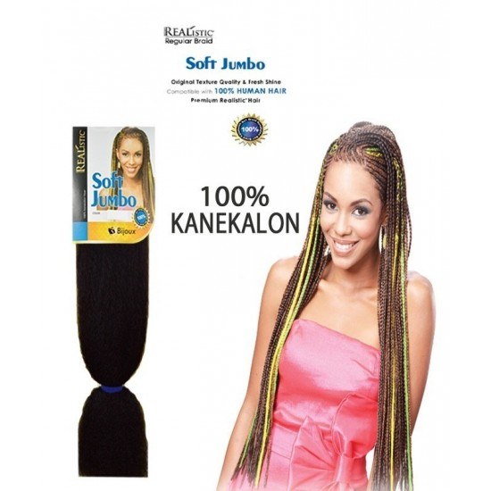 Bijoux Synthetic 100% Kanekalon Braids Soft Jumbo Braid