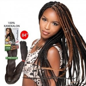 Sensationnel African Collection Synthetic 100% Kanekalon X-pression Braid