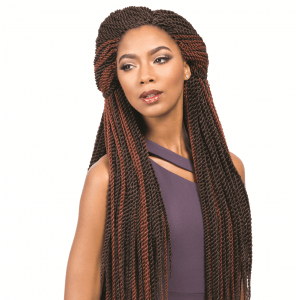 sensationnel synthetic crochet braids african collcetion senegal twisted  braid loop 30""