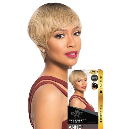 Sensationnel Empire Wig 100% Human Hair Full Wig Anne