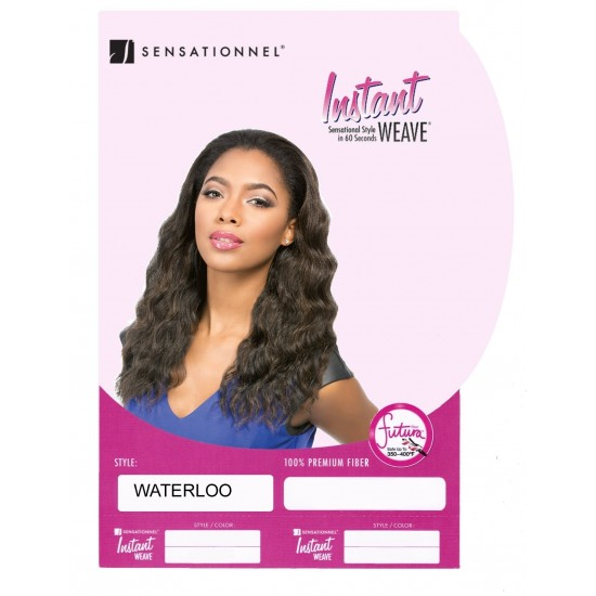 Sensationnel Synthetic Instant Weave Half Wig Waterloo