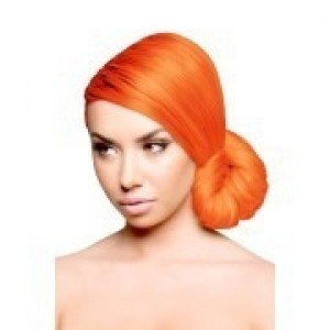 sparks long-lasting bright permanent hair color - sparks orange crush