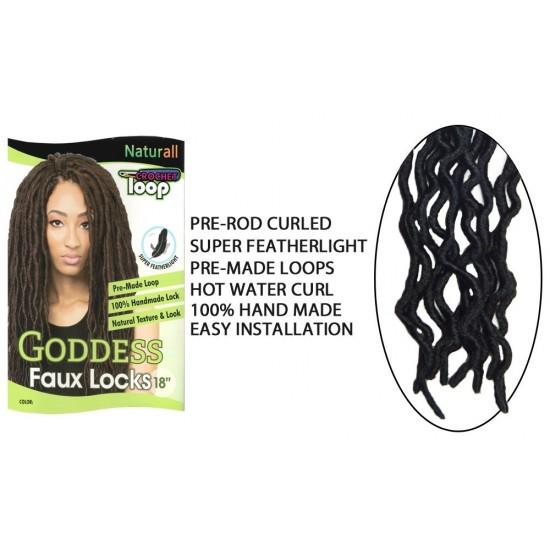 Urban Beauty Synthetic Hair Crochet Braids Loop Lady Goddess Faux Locs 18