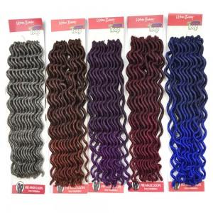 "Urban Beauty  Synthetic Hair Crochet Braids Loop Lady Goddess Locs 12"""
