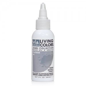 Via Natural Living Permanent Hair Color #44 Platinum 4oz