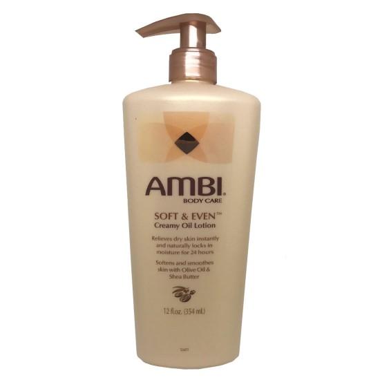 Ambi Body Care Creamy Oil Lotion 12 Oz
