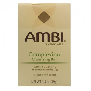 Ambi Skin Care Complexion Cleansing Bar Soap 3.5 Oz