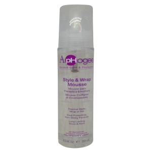 Aphogee Style & Wrap Mousse 8.5 Oz