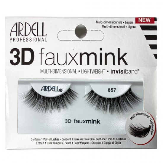 Ardell 3d Fauxmink Invisiband Lashes 857