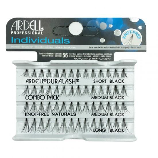 Ardell Combo Pack Short-medium-long Black Individual Lash