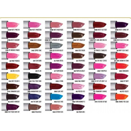 Ashley Lee Color Lipstick Matte