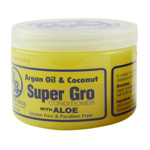 B And B Super Gro Argan Oil And Coconut Conditioner With Aloe 6 Oz