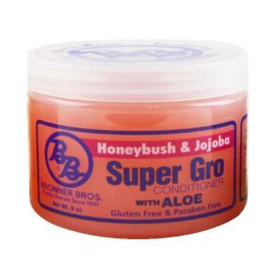B And B Super Gro Honeybush And Jojoba Conditioner With Aloe 6 Oz