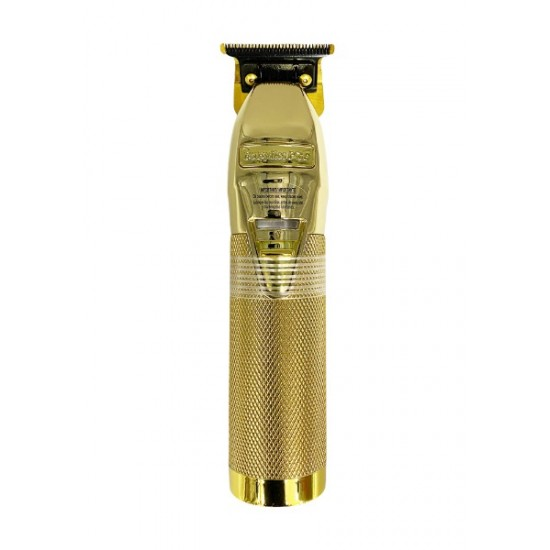 Babyliss Pro Gold Fx Metal Lithium Outlining Hair Trimmer Cordless Fx787g Gold